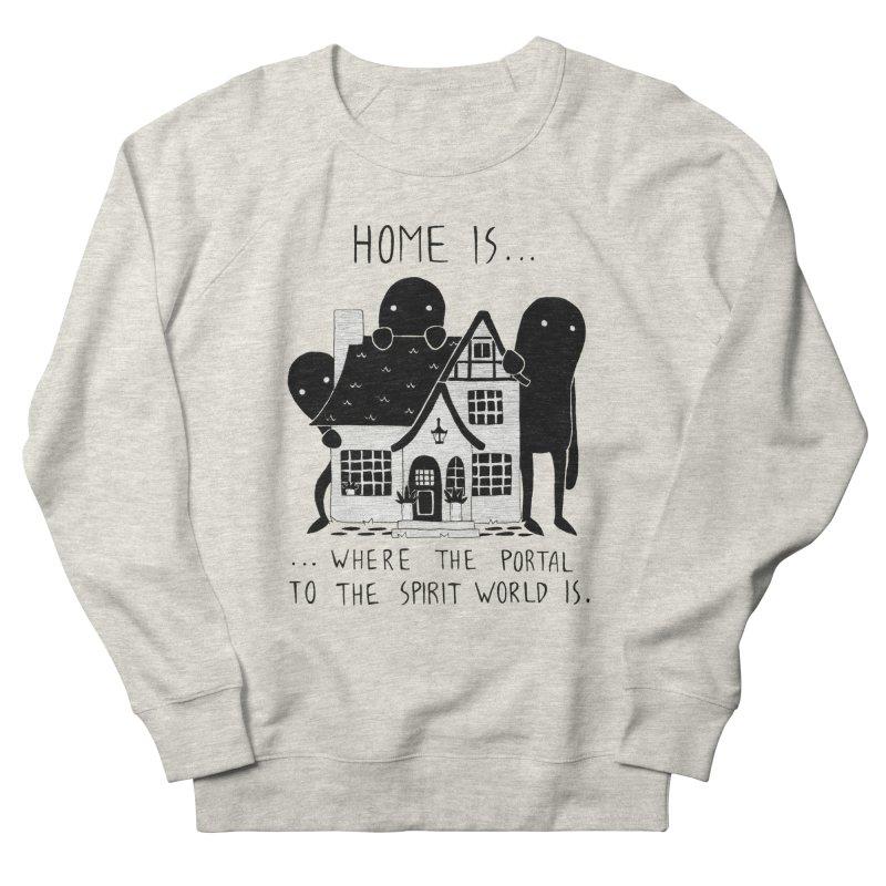 Home Women's Sweatshirt by Behemot's doodles