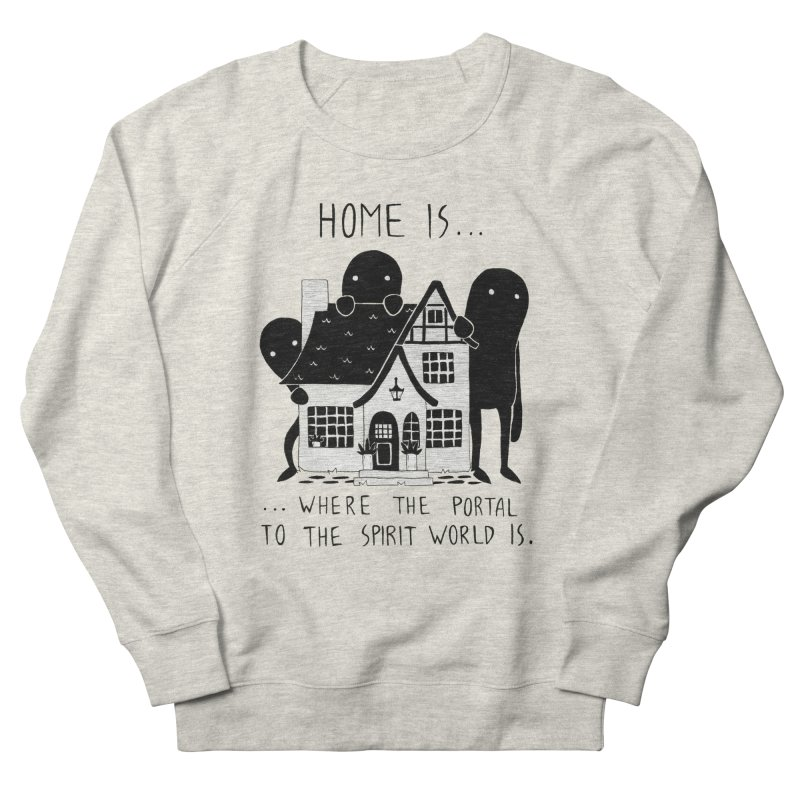 Home Men's Sweatshirt by Behemot's doodles