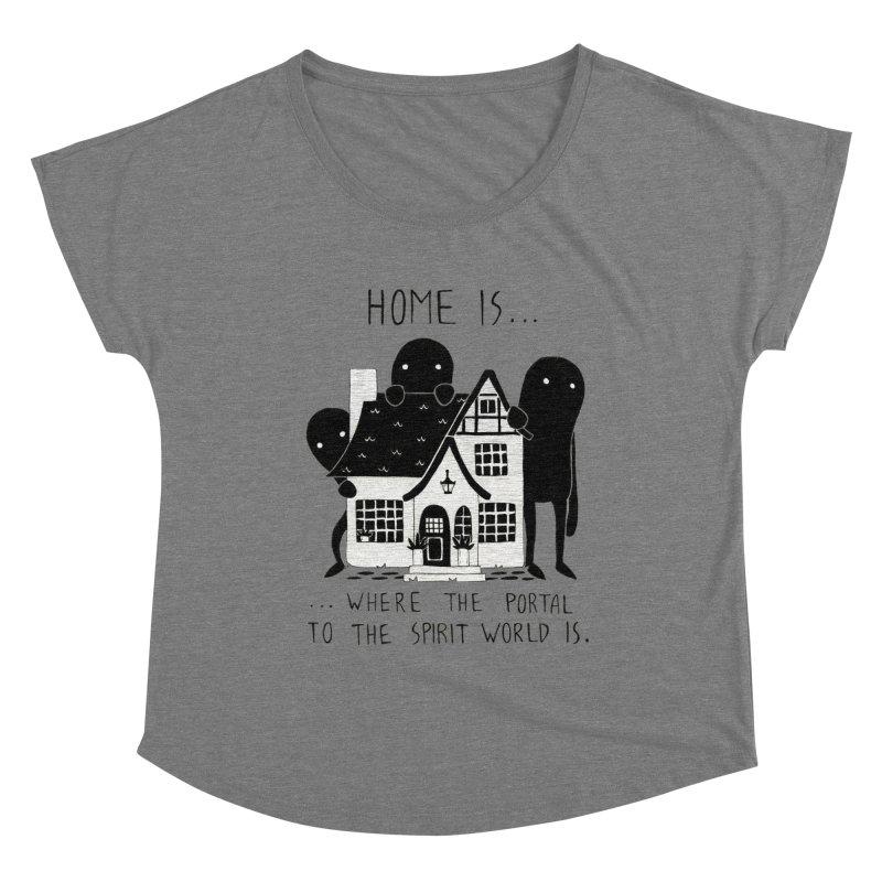 Home Women's Scoop Neck by Behemot's doodles