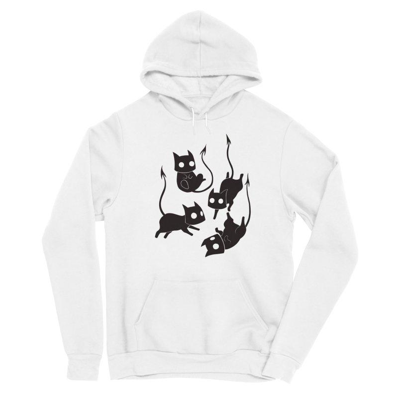 Demon Cats Women's Pullover Hoody by Behemot's doodles