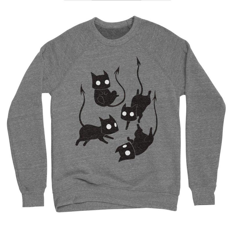 Demon Cats Men's Sweatshirt by Behemot's doodles