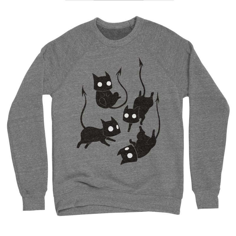 Demon Cats Women's Sweatshirt by Behemot's doodles