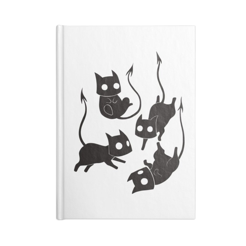 Demon Cats Accessories Notebook by Behemot's doodles