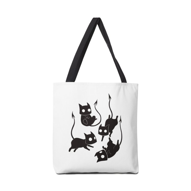 Demon Cats Accessories Bag by Behemot's doodles