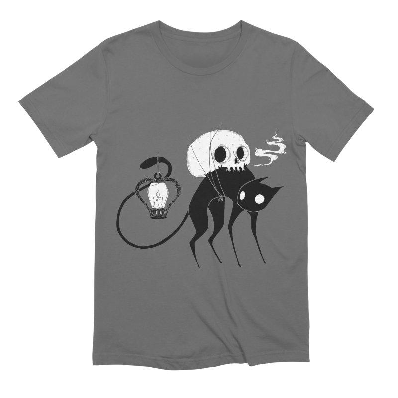 The Familiar Men's T-Shirt by Behemot's doodles