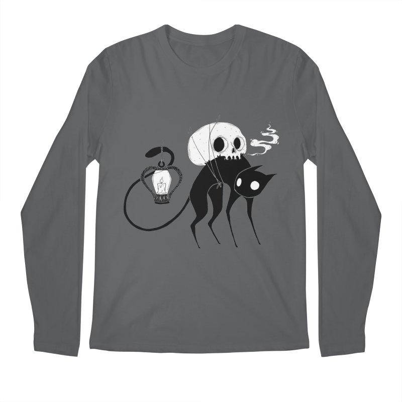 The Familiar Men's Longsleeve T-Shirt by Behemot's doodles