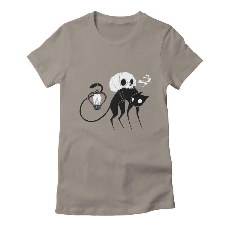 The Familiar Women's T-Shirt by Behemot's doodles
