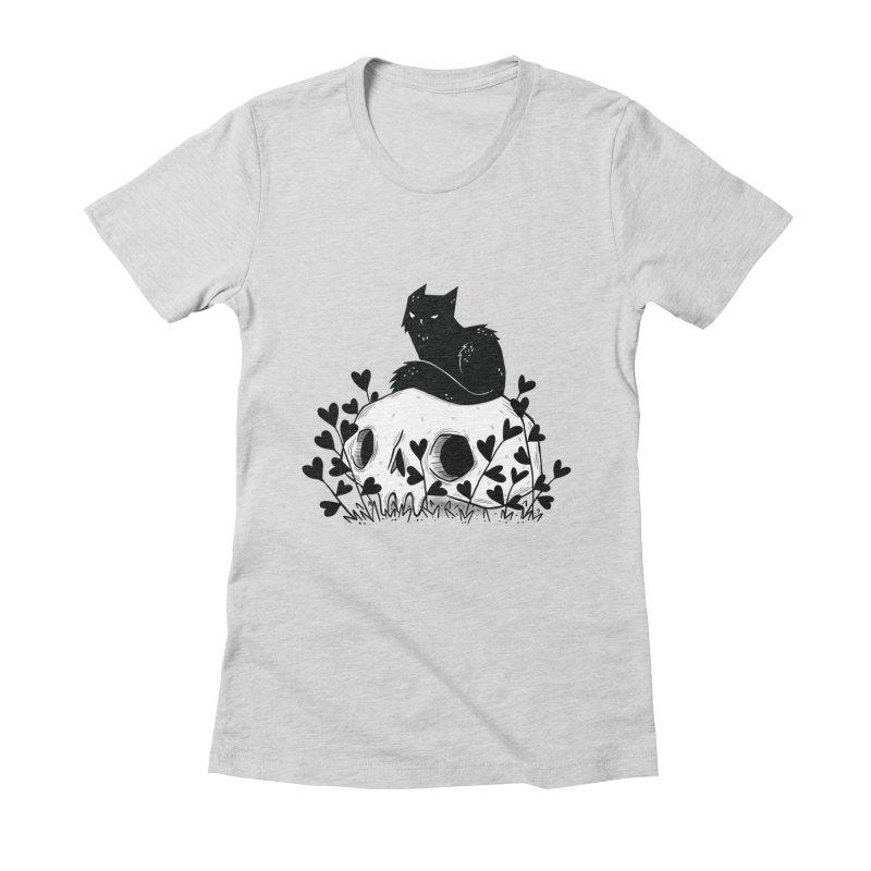 Hater Women's T-Shirt by Behemot's doodles