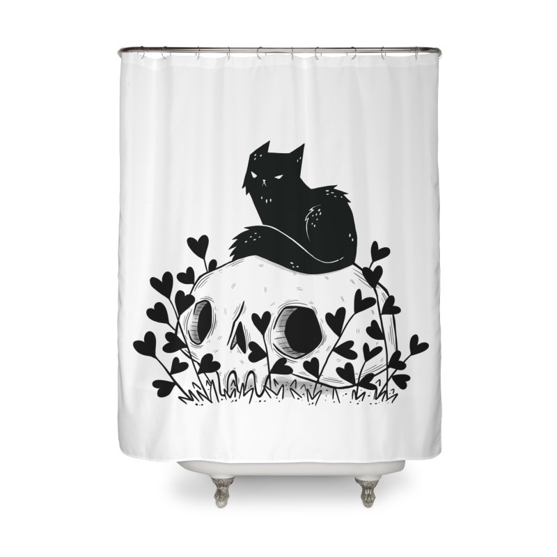 Hater Home Shower Curtain by Behemot's doodles