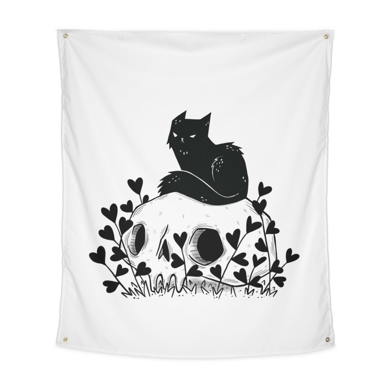 Hater Home Tapestry by Behemot's doodles