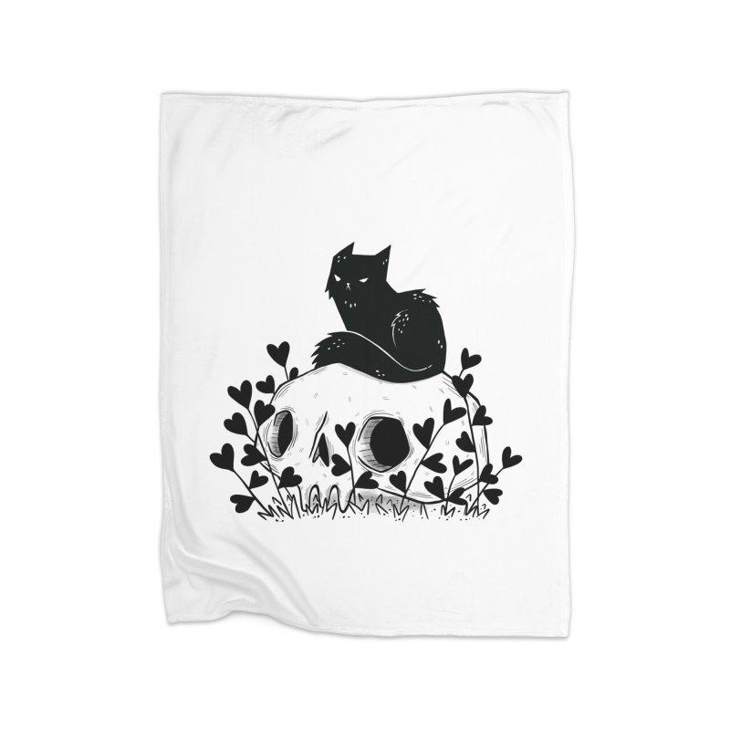 Hater Home Blanket by Behemot's doodles