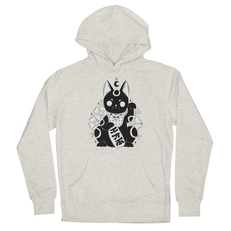 Maneki-neko Men's Pullover Hoody by Behemot's doodles