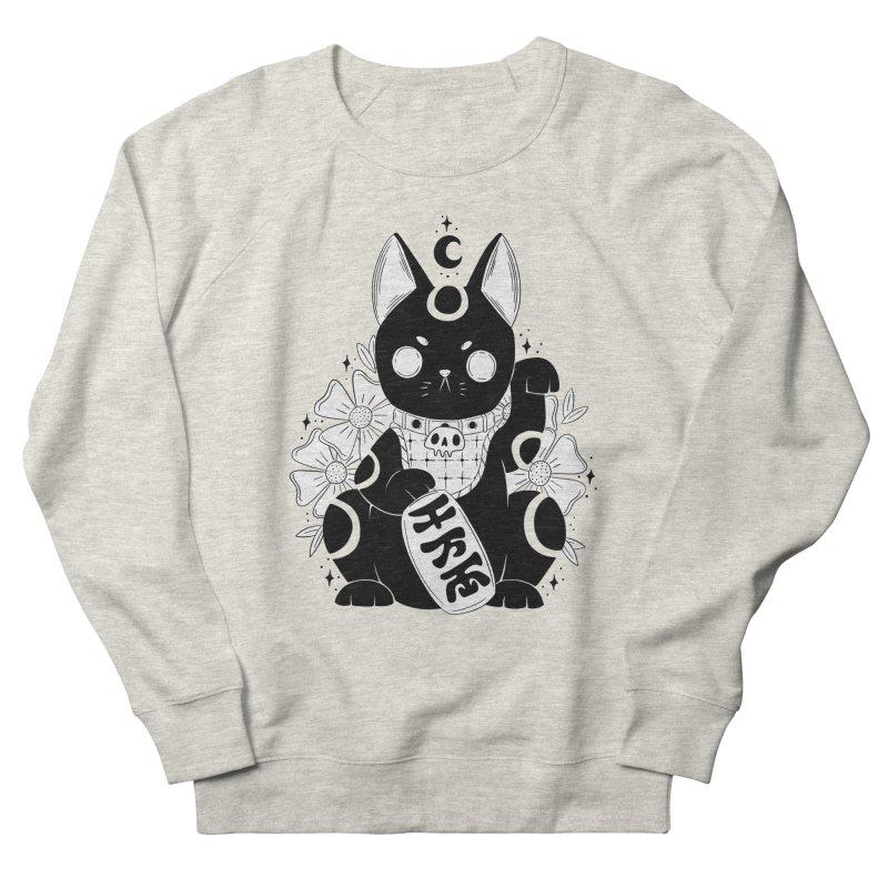 Maneki-neko Men's Sweatshirt by Behemot's doodles