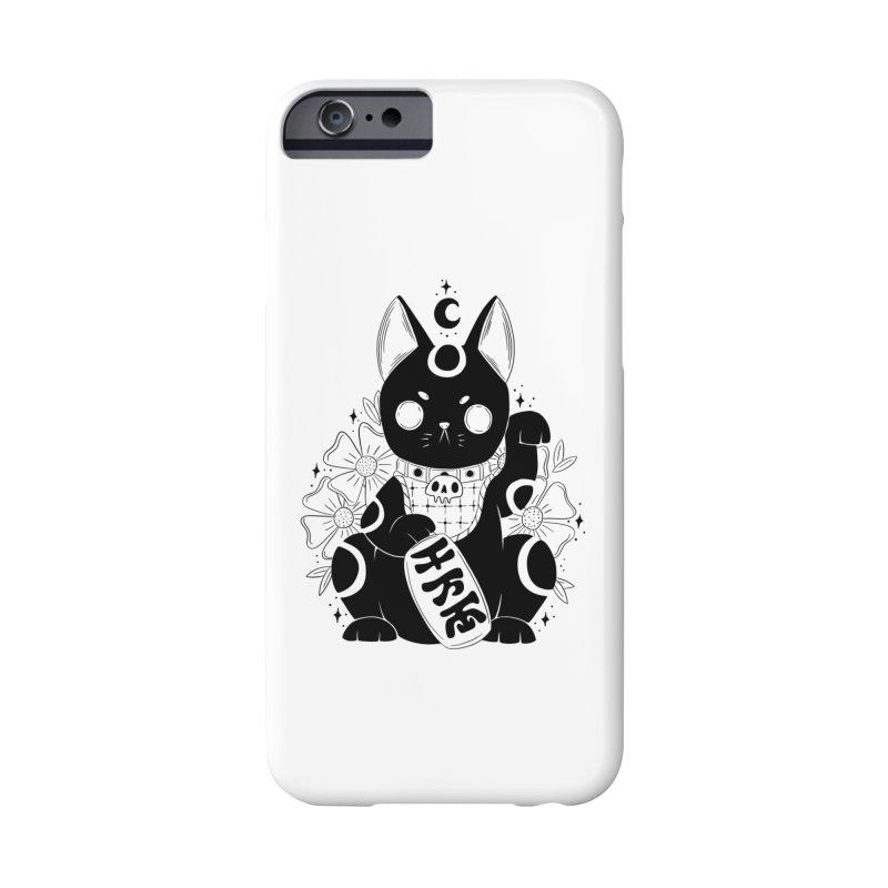 Maneki-neko Accessories Phone Case by Behemot's doodles