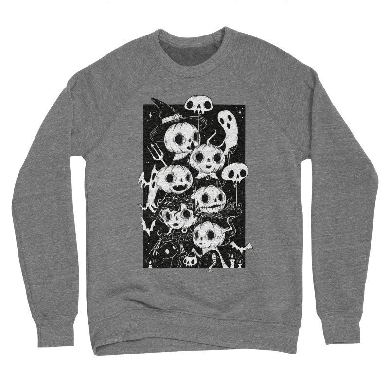 Pumpkin Kids Men's Sweatshirt by Behemot's doodles
