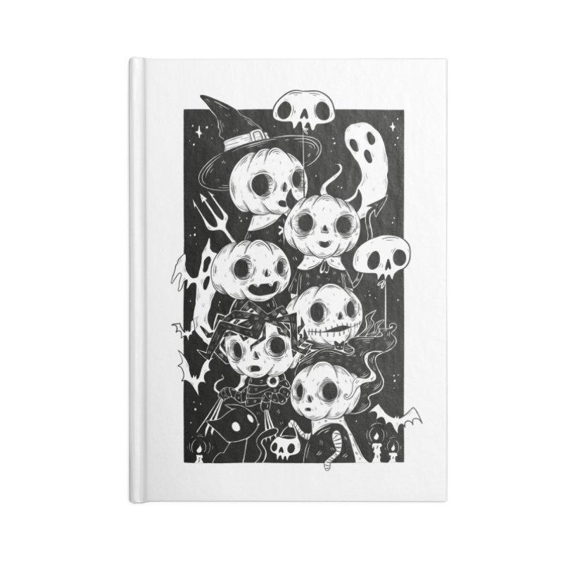 Pumpkin Kids Accessories Notebook by Behemot's doodles