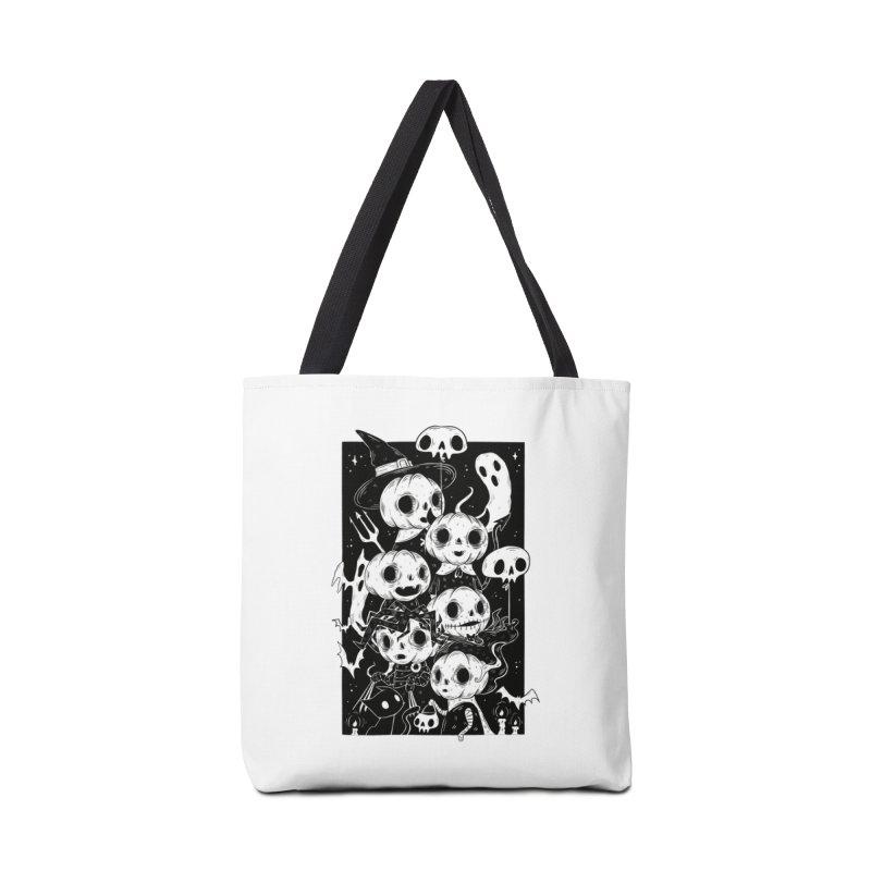 Pumpkin Kids Accessories Bag by Behemot's doodles