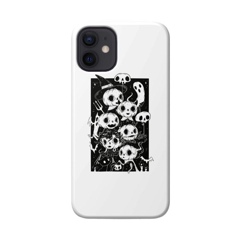 Pumpkin Kids Accessories Phone Case by Behemot's doodles
