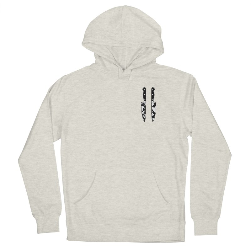 Love and Death knives Men's Pullover Hoody by Behemot's doodles