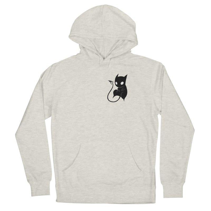 Demon Cat Men's Pullover Hoody by Behemot's doodles