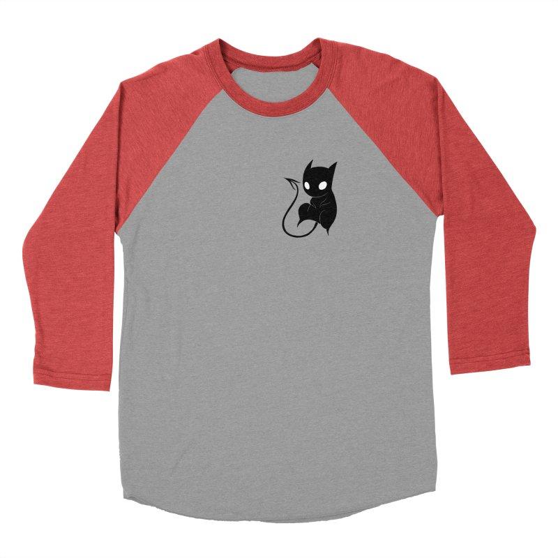 Demon Cat Men's Longsleeve T-Shirt by Behemot's doodles