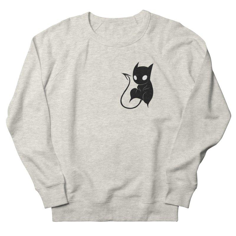 Demon Cat Men's Sweatshirt by Behemot's doodles