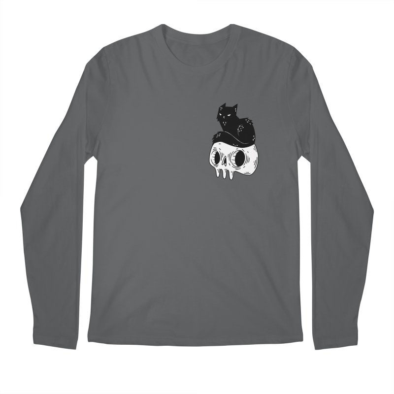 Twin Cat #1 Men's Longsleeve T-Shirt by Behemot's doodles