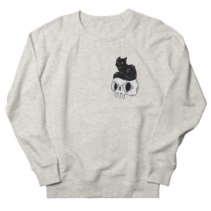 Twin Cat #1 Men's Sweatshirt by Behemot's doodles