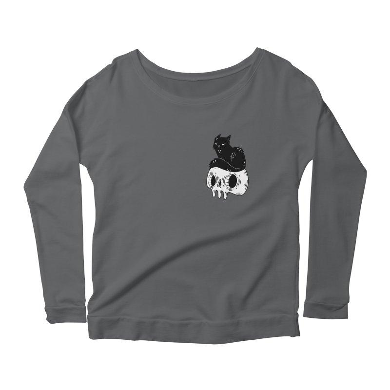 Twin Cat #1 Women's Longsleeve T-Shirt by Behemot's doodles