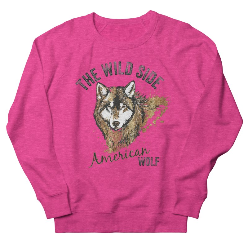 American Wolf Women's Sweatshirt by behindsky's Shop