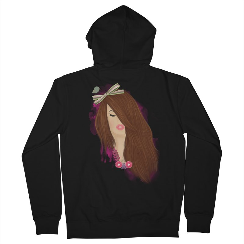 Summertime sadness Women's Zip-Up Hoody by behindsky's Shop