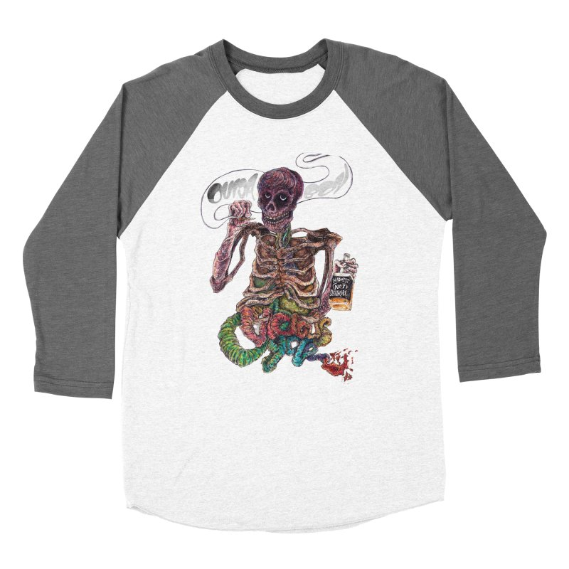 Midwest Deathcore Men's Baseball Triblend Longsleeve T-Shirt by ILLnoise