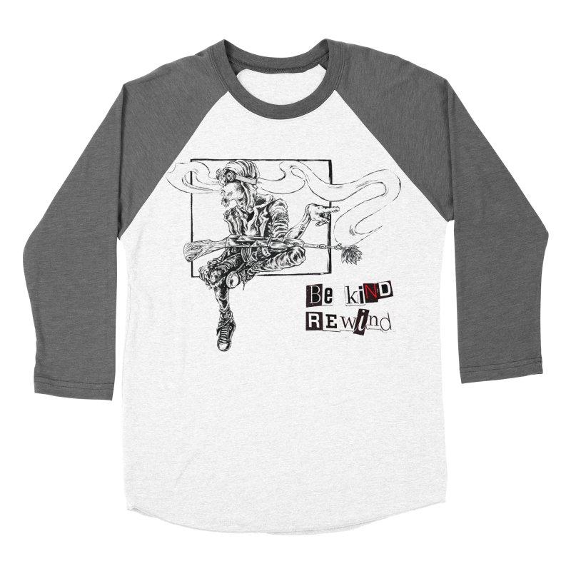 Old School Men's Baseball Triblend Longsleeve T-Shirt by ILLnoise