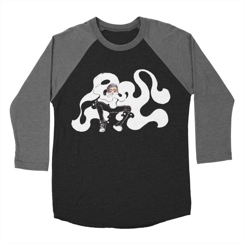 Hotbox Men's Baseball Triblend Longsleeve T-Shirt by ILLnoise