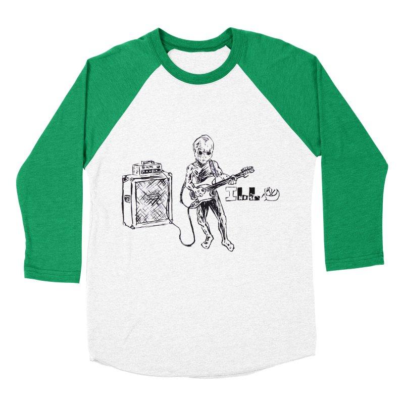 Phone Home Men's Baseball Triblend Longsleeve T-Shirt by ILLnoise