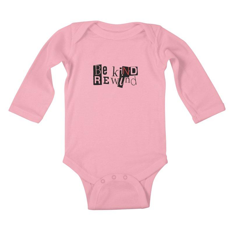 0_o Kids Baby Longsleeve Bodysuit by ILLnoise