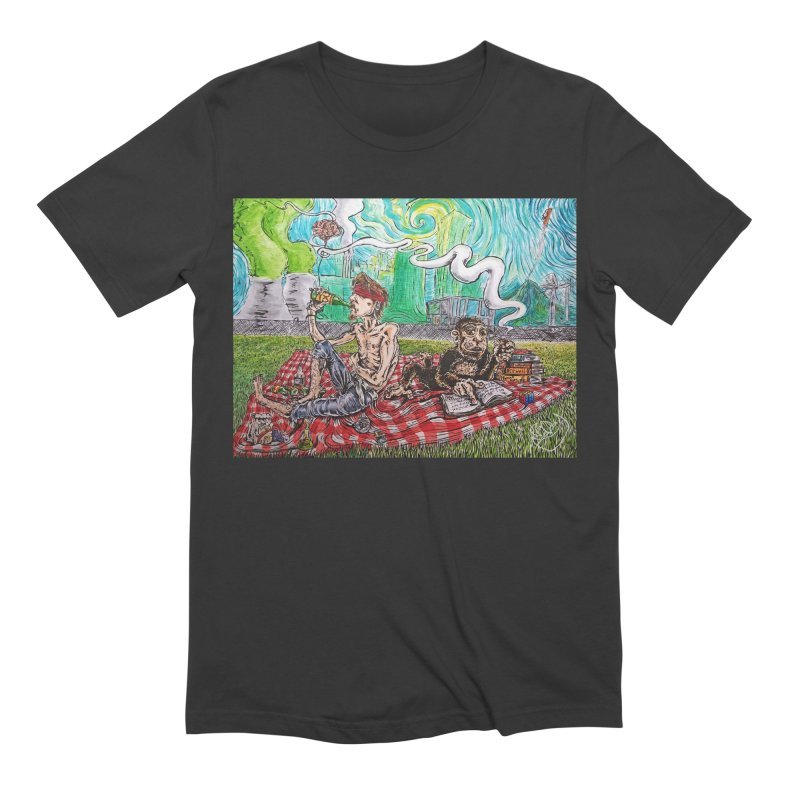 Nuclear Picnic Men's Extra Soft T-Shirt by ILLnoise