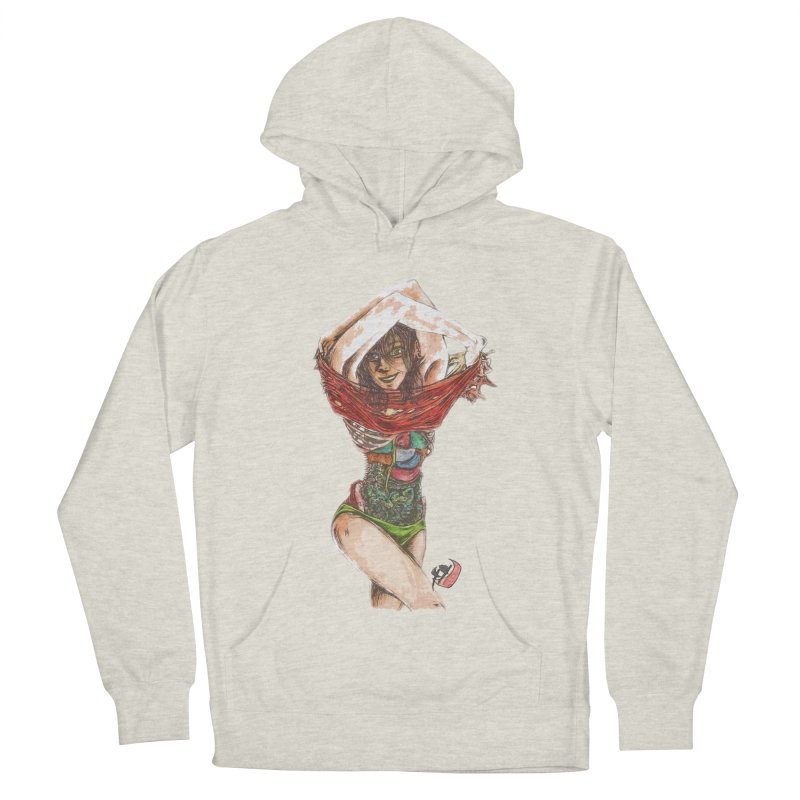 Social Women's French Terry Pullover Hoody by ILLnoise