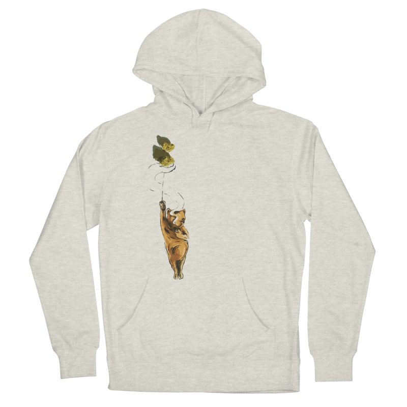 Ganja Women's French Terry Pullover Hoody by ILLnoise