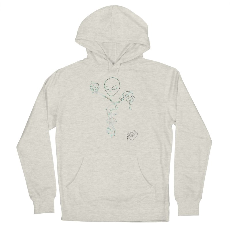 Architect Women's French Terry Pullover Hoody by ILLnoise