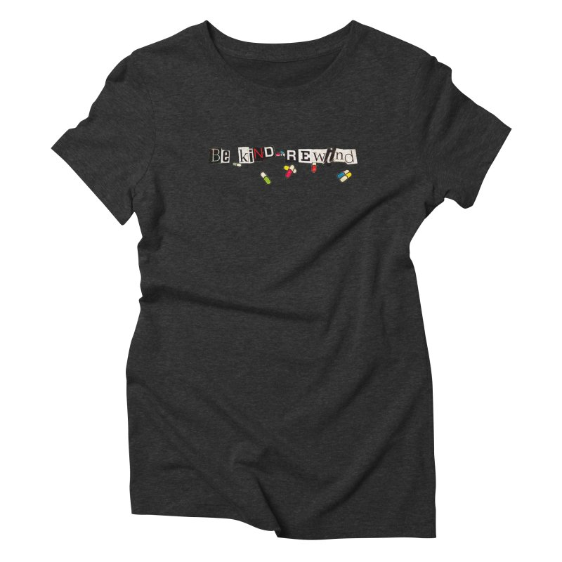 BE KIND Women's Triblend T-Shirt by ILLnoise