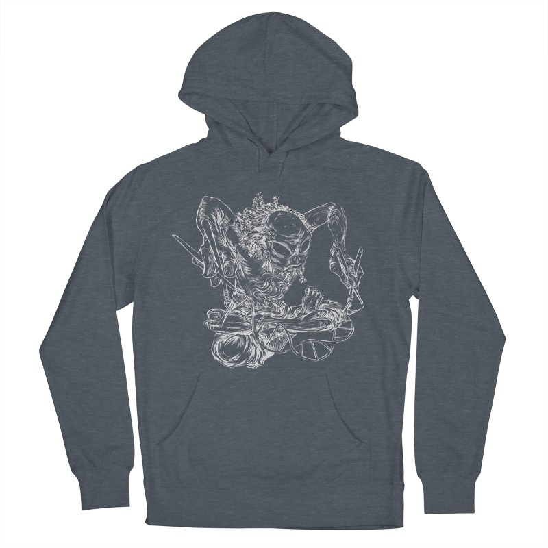 X Men's French Terry Pullover Hoody by ILLnoise