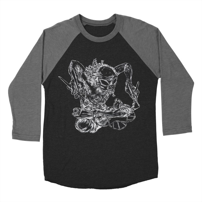 X Women's Baseball Triblend Longsleeve T-Shirt by ILLnoise