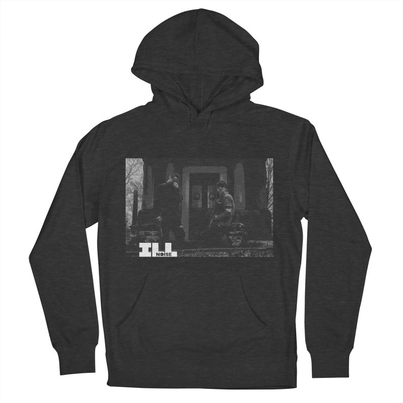 Cemetery City Women's French Terry Pullover Hoody by ILLnoise