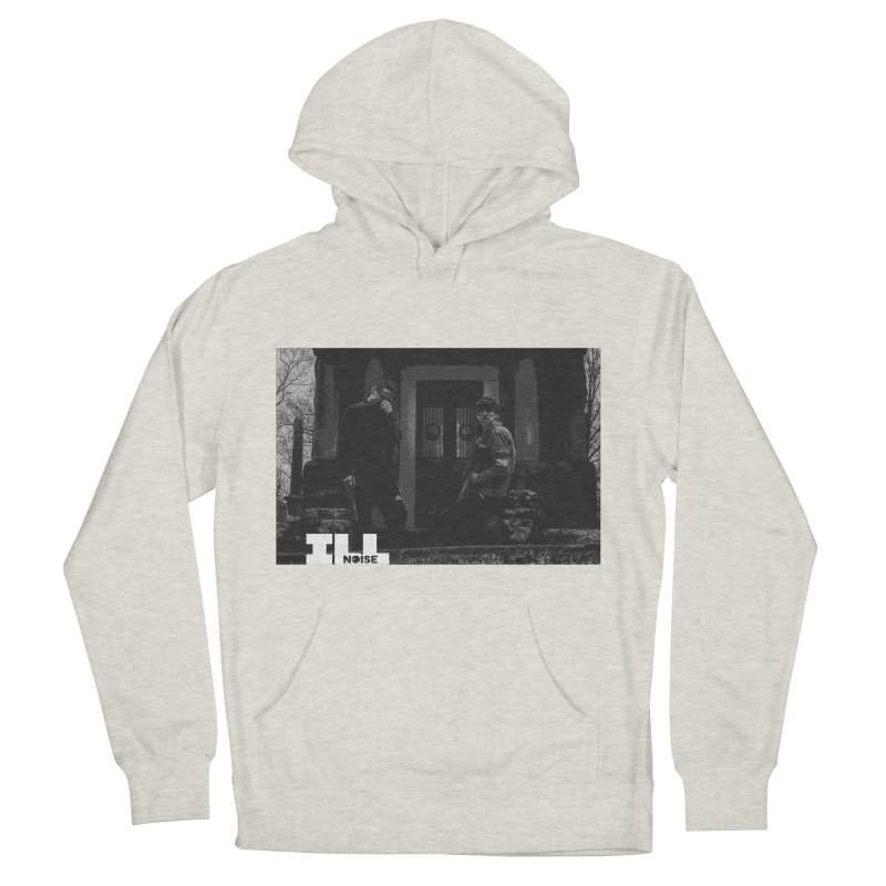 Cemetery City Men's French Terry Pullover Hoody by ILLnoise