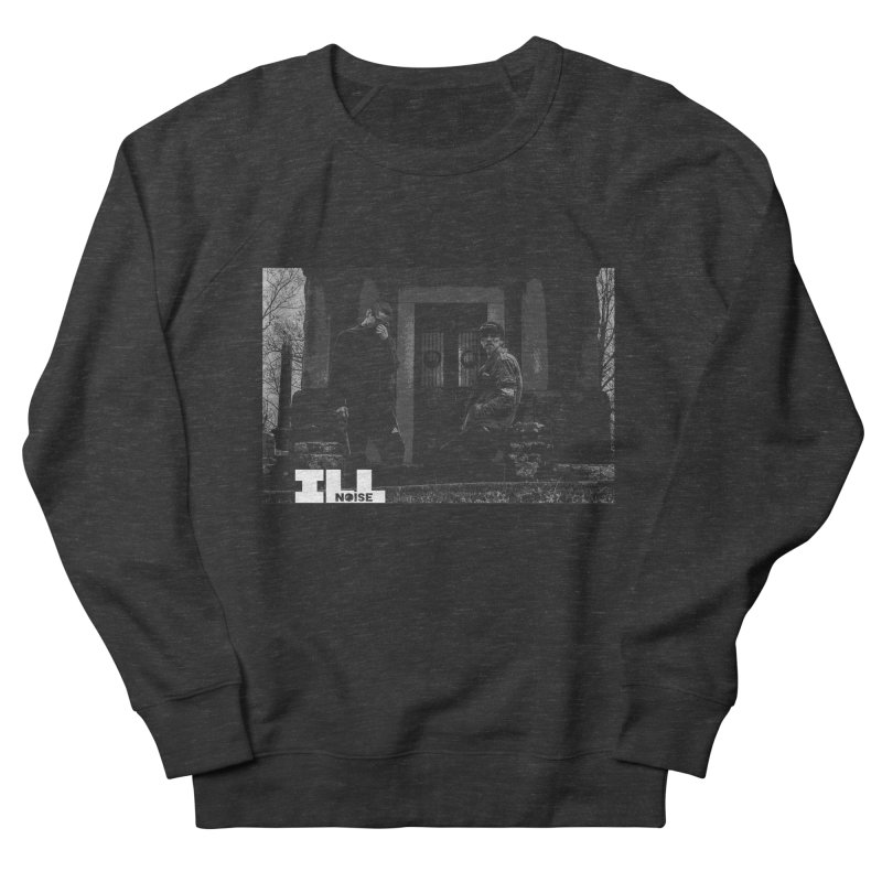 Cemetery City Men's French Terry Sweatshirt by ILLnoise