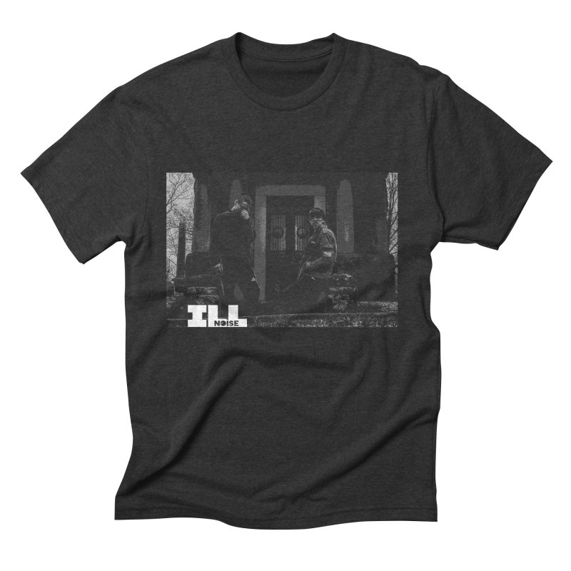 Cemetery City Men's Triblend T-Shirt by ILLnoise