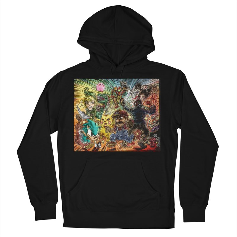 SMASH'd bois Men's French Terry Pullover Hoody by ILLnoise