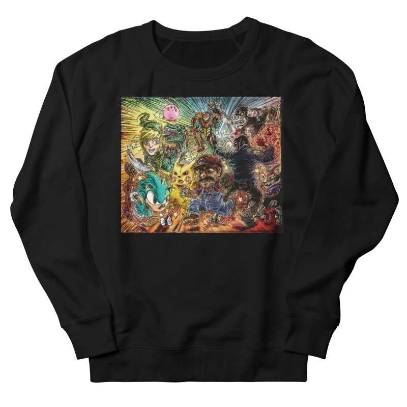 SMASH'd bois Women's French Terry Sweatshirt by ILLnoise