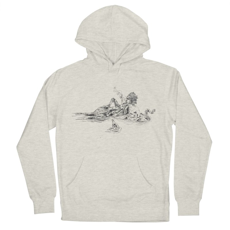 Castaway Men's French Terry Pullover Hoody by ILLnoise